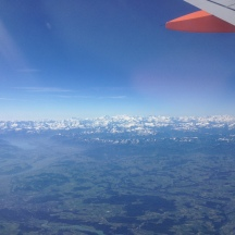 Almost at Geneva to visit CERN.