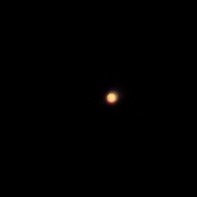 One of the better Mars frames out of a terrible image session