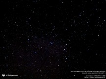 Wide field image of M39 open cluster in Cygnus