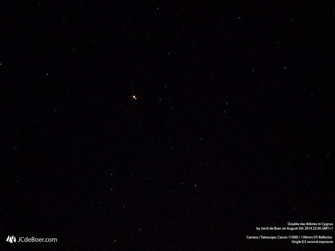 Double star Albireo