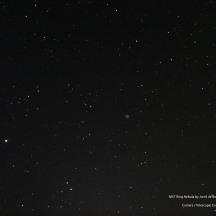 A single frame of the Ring Nebula.