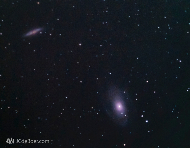 The M81 and M82 galaxies
